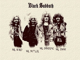 Line up of Black Sabbath