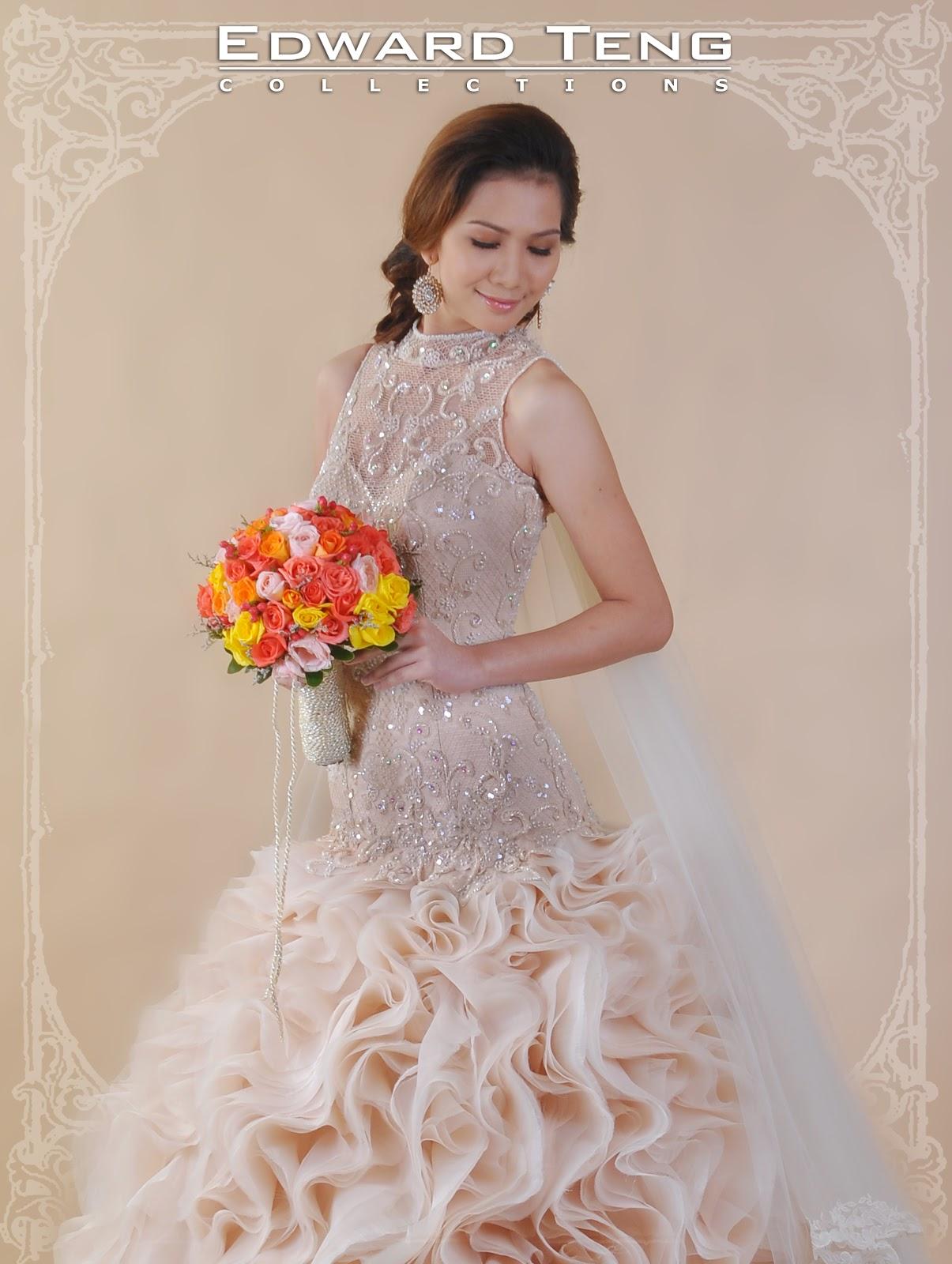 Edward Teng - Philippine Bridal Gowns: November 2012