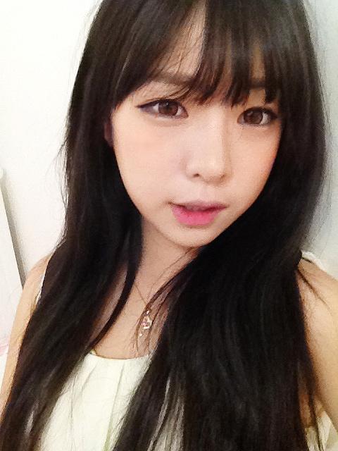 angie wong how to seethrough bangs fringe