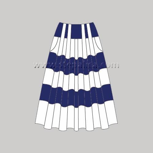 Šivenje Zlata suknje: #1 Izbor mateirjala