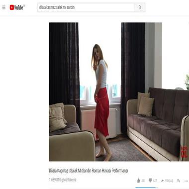 youtube com - dilara kaçmaz - salak mı sandın