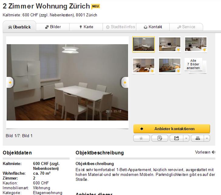 Wohnungsbetrug.blogspot.com: Alias Marcel Wohnung 2 Zimmer