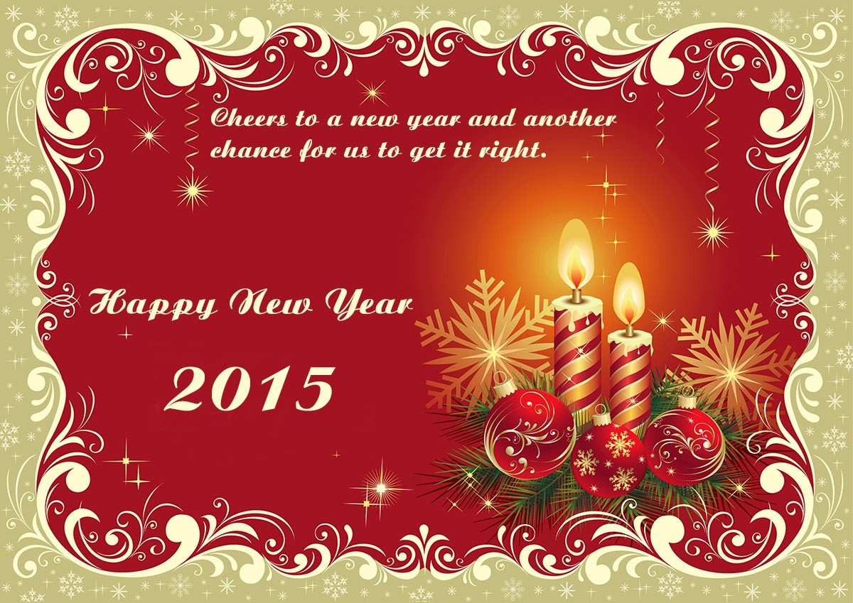 Beautiful Happy New Year Greetings Cards