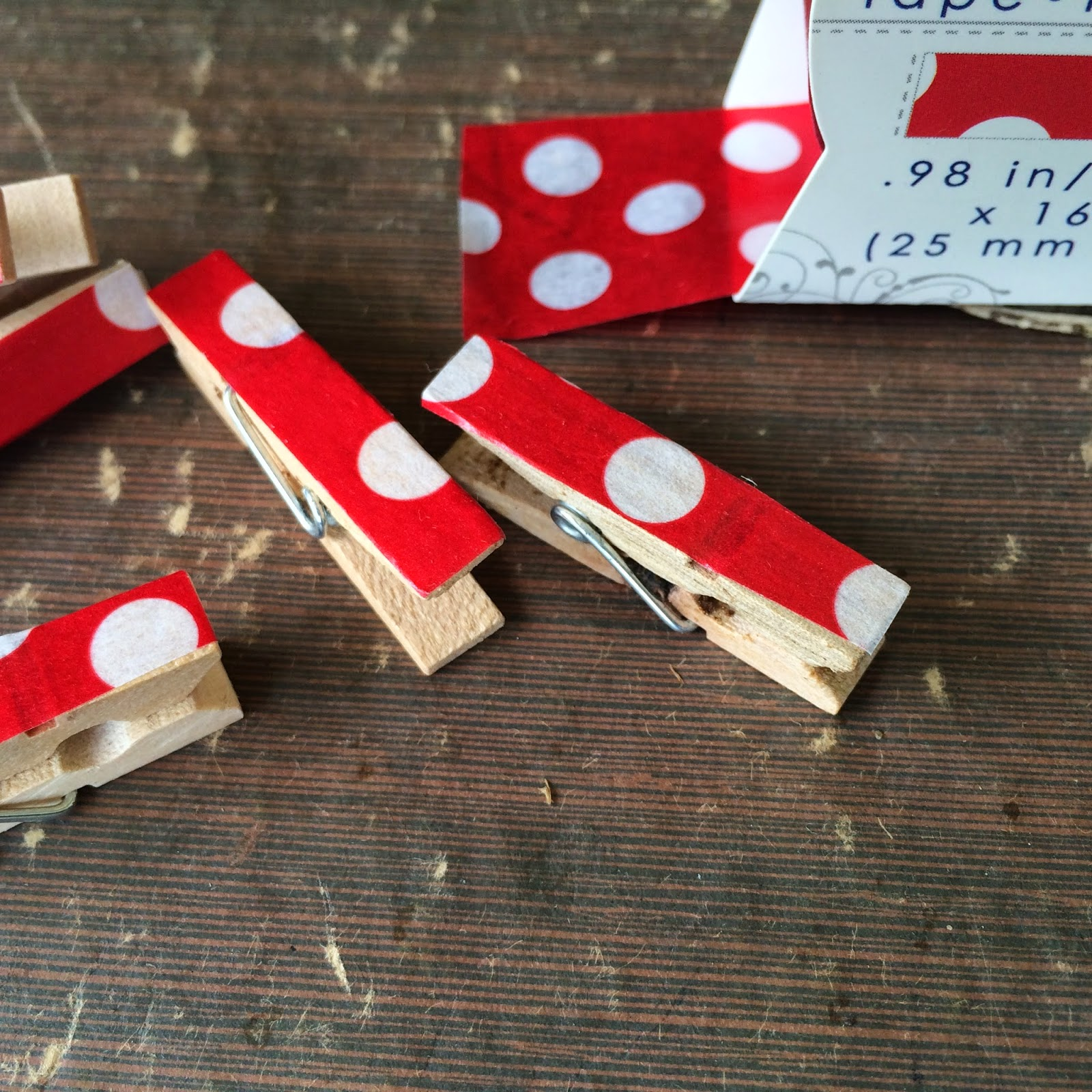 Washi tape DIY projects outside the box papers