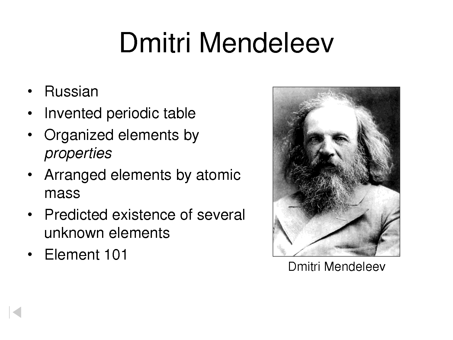 Wumbo science periodic table dmitri mendeleevs is the creator urtaz Choice Image