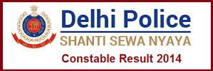 Delhi Police Result 2014-15