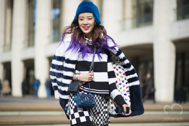 Korean Model Irene Kim at New York Fashion Week NYFW