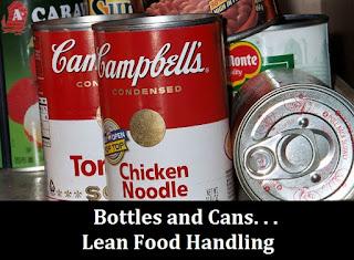lean food handling