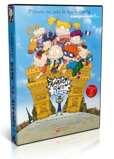 Los Rugrats en Paris DVDRip Español Latino Película Infantil