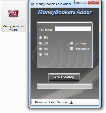 moneybookers money adder