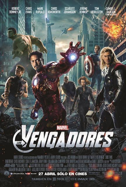 Cartel película Los Vengadores