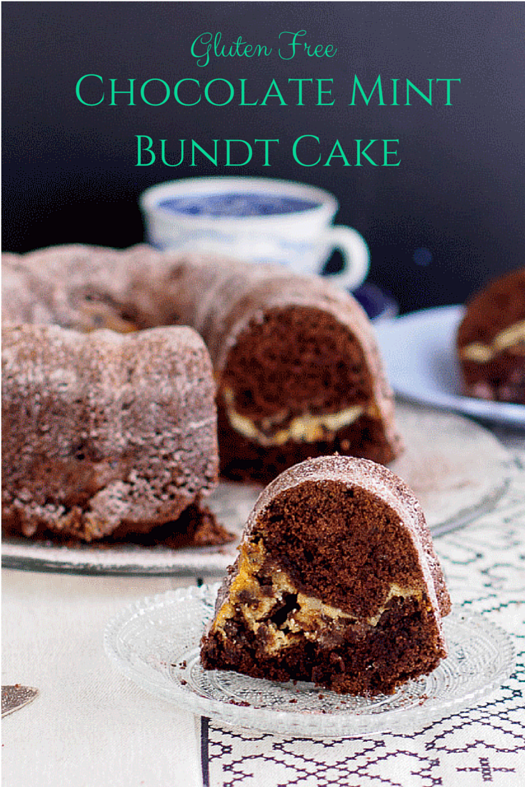 gluten free chocolate mint bundt cake adapted from coffee cakes by lou ...