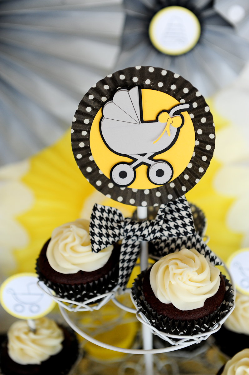bee themed baby shower