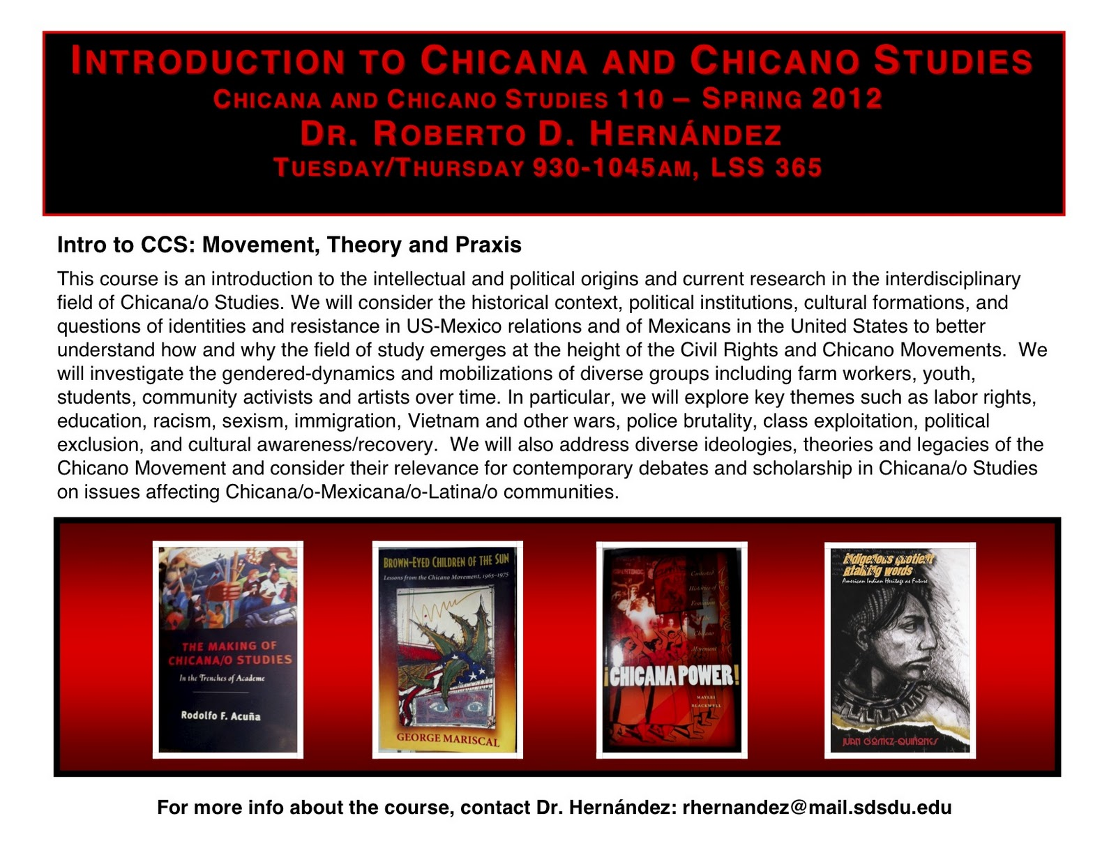 chicana studies Welcome to chicana/o studies at the university of texas at el paso our instructional and research program is dedicated to the study of the mexican- origin.