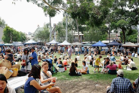 Glebe Markets Sydney