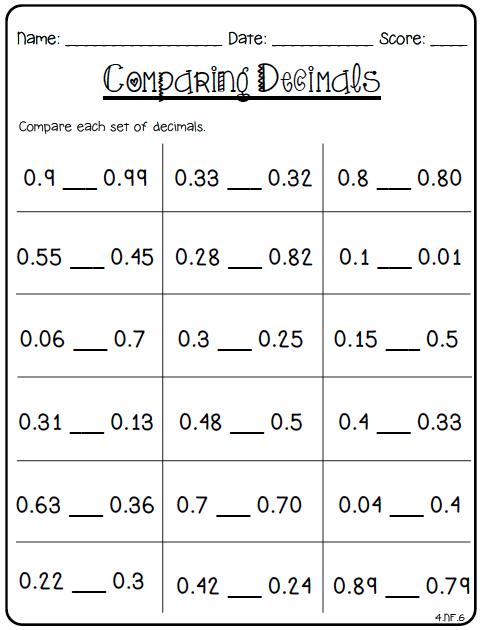 math worksheet : ccss math 4th grade : 5th Grade Common Core Math Worksheets