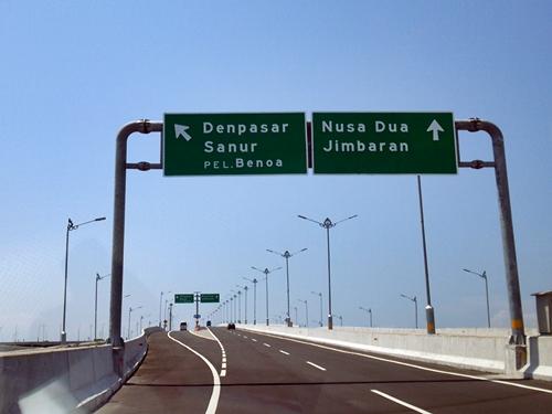 海上有料道路・バリマンダラ(Jalan Tol Bali Mandara)