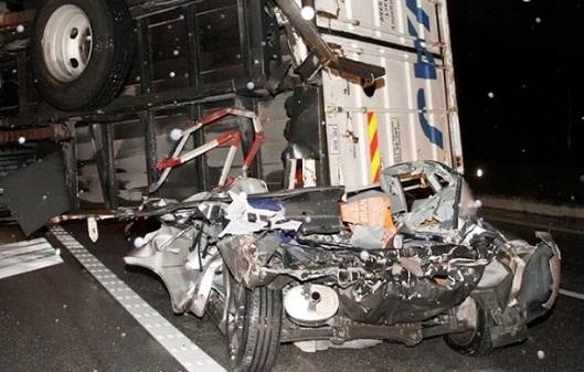 Berpantang maut sebelum ajal, pemandu kereta hanya cedera sahaja dalam kemalangan ini