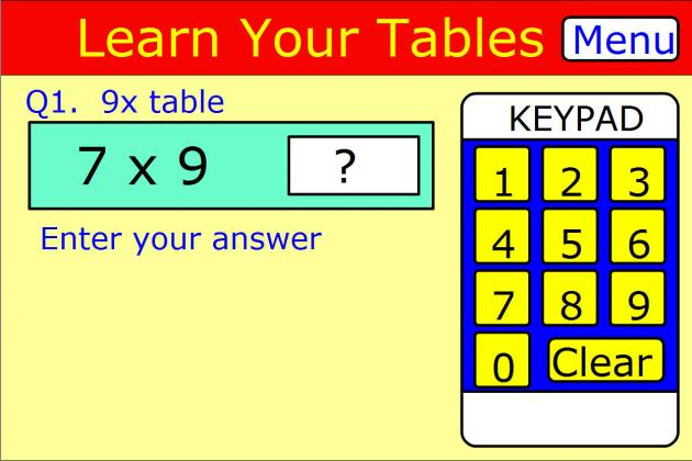 Learn lead grow an interactive way of learning math times tables - How to learn your times tables ...