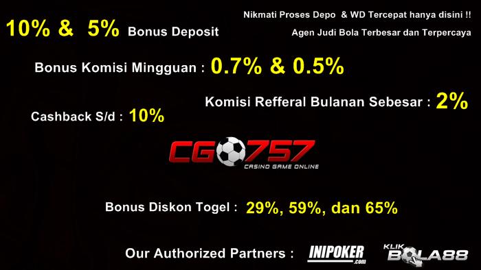 Bandar Togel Online Terpercaya 2014 Indonesia: CGO757 Agen ...