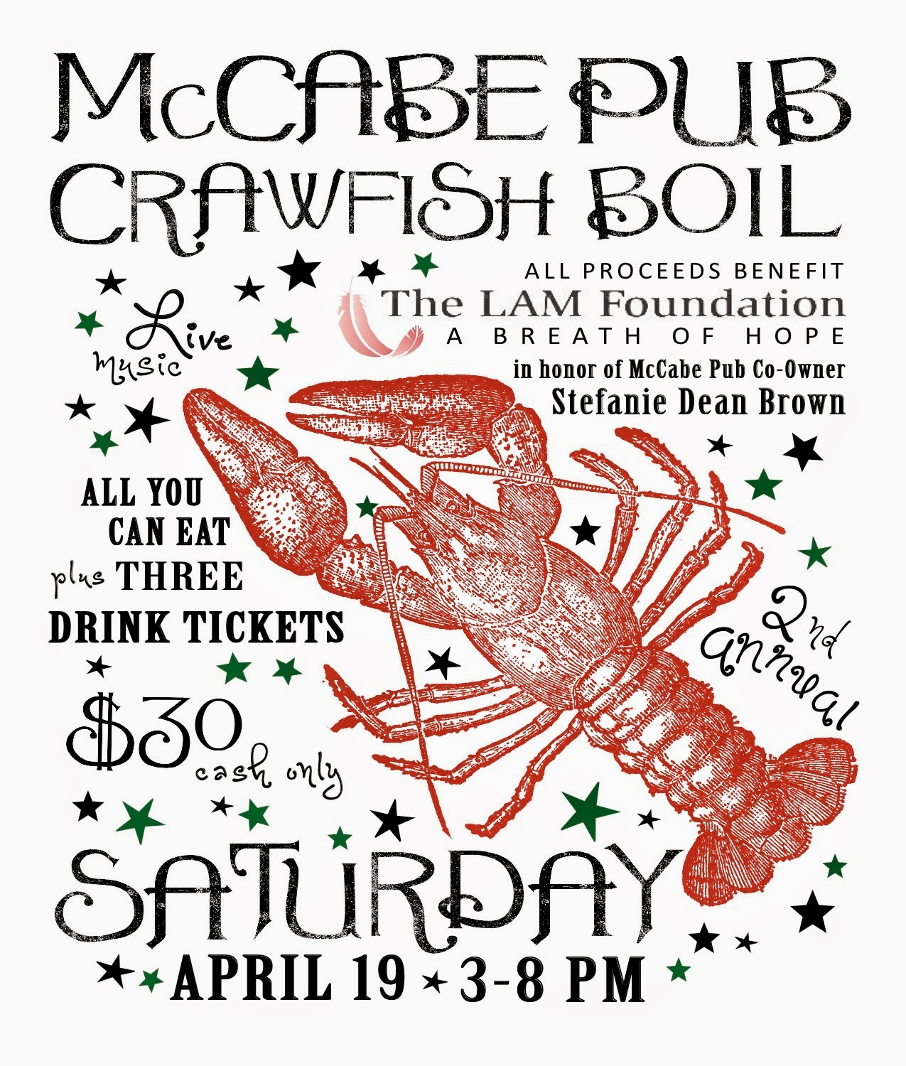 McCabe Pub Crawfish Boil