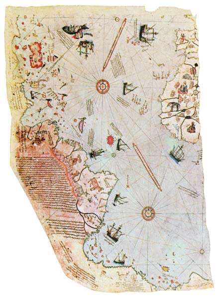 The Piri Reis Map of 1513: Out-of-place Artifacts