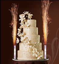 CUSTOM MADE WEDDING CAKE BIRTHDAY CAKE BIG BIRTHDAY CANDLE