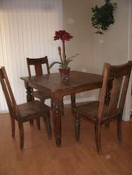 Table and chairs - SOLD