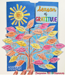 teach your students to be grateful for all they have during the holiday season and beyond. Thanksgiving ideas for the classroom