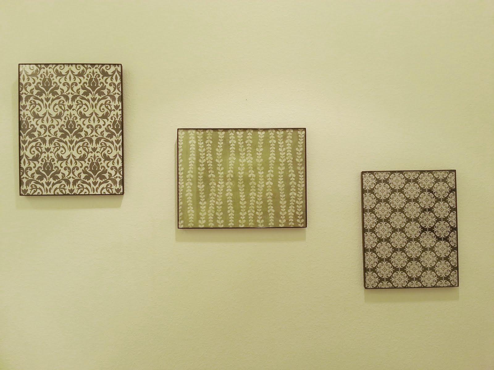 Wall Decor With Scrapbook Paper : Smock paper scissor scrapbook wall art