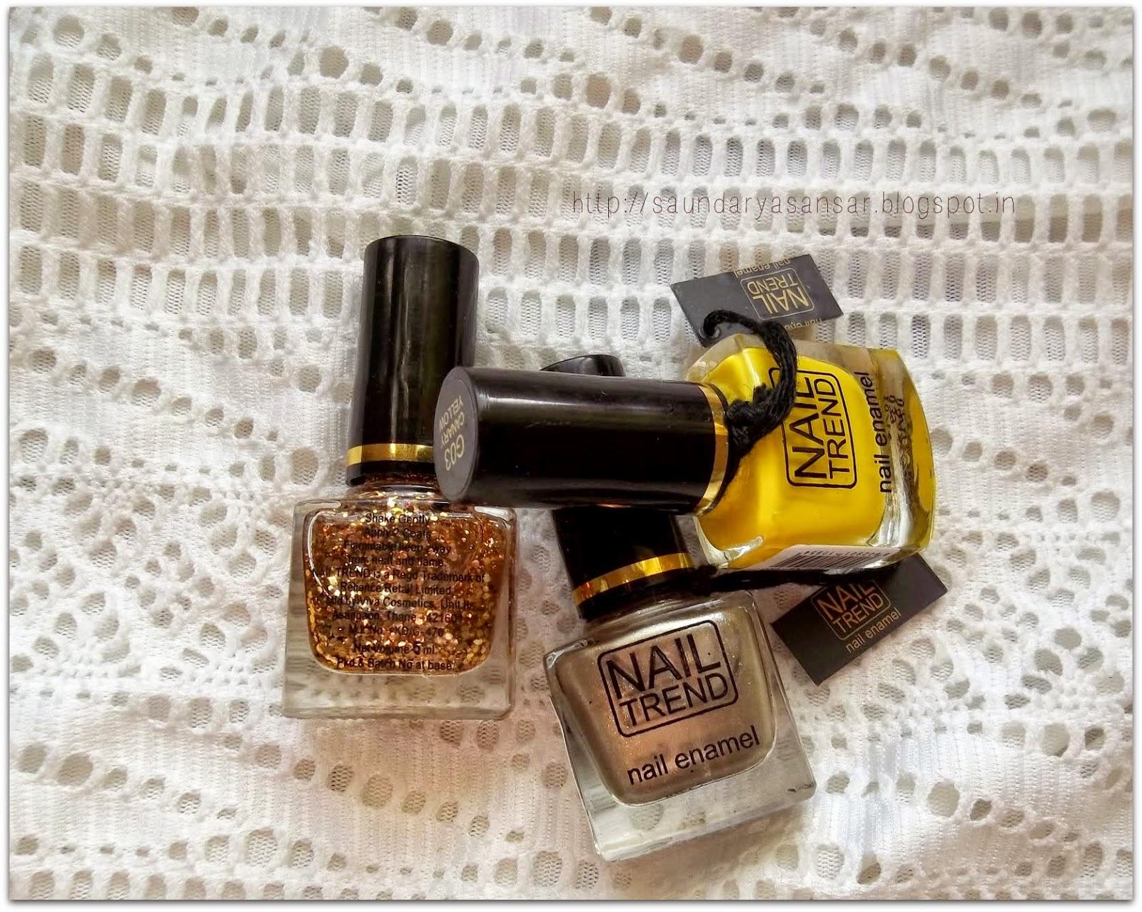 Nail Trend Nail Enamel- Review
