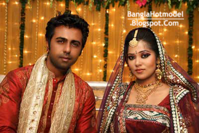 Bangladeshi Model Apurbo wedding