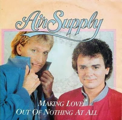 Lirik Lagu Air Supply - Making Love Out Of Nothing At All ...