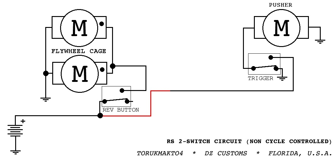 the dart zone  tech  rapidstrike control circuits part 1