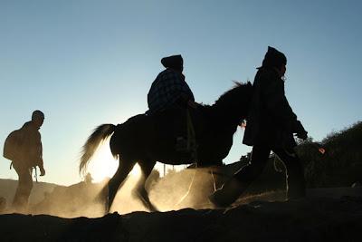 Berkuda di lautan pasir Bromo Sita Blog http://gemahripahst06.blogspot.com