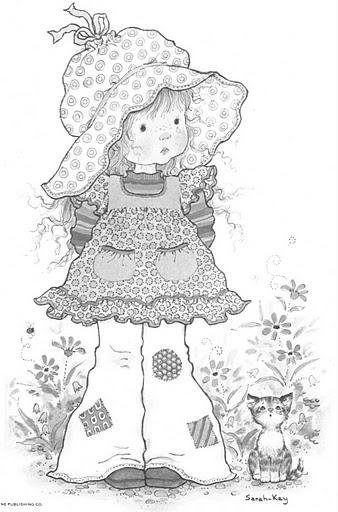 Free coloring pages sarah kay