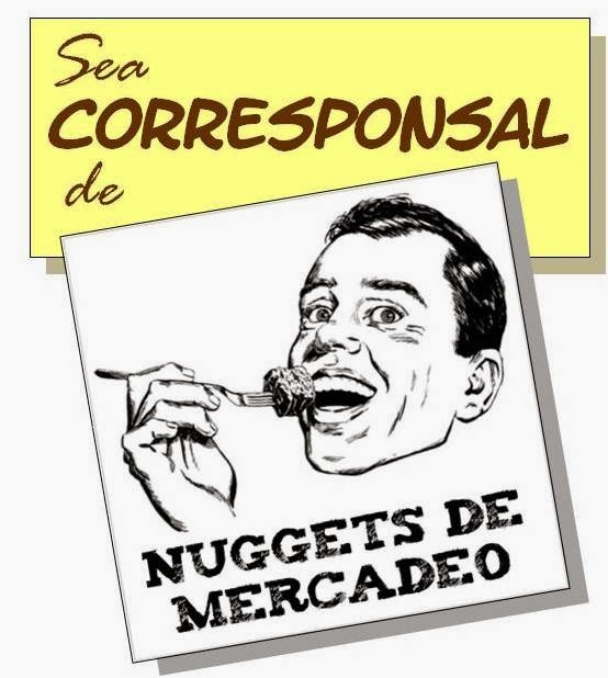 Escriba para Nuggets de Mercadeo