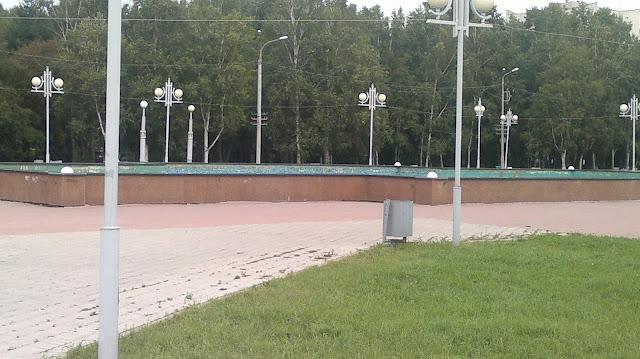 Фонтаны в Комсомольске - на - Амуре