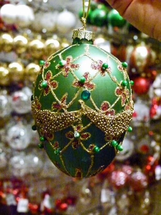 Liberty's of London, Christmas shop, bauble