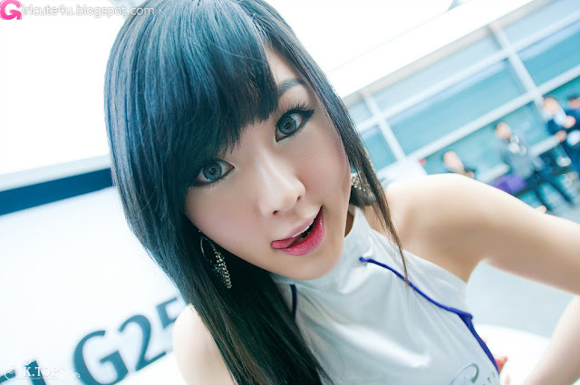 6 Hwang Mi Hee - Infiniti G Racing Limited Edition-very cute asian girl-girlcute4u.blogspot.com