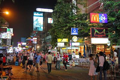 Khao San Road à Bangkok