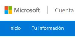 Administrar direccion unica de inicio de sesion en Outlook