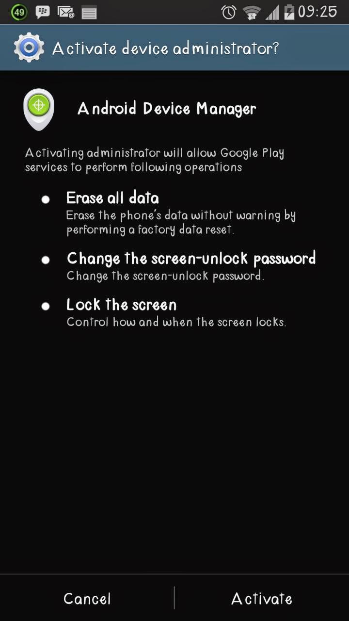 ... ikuti langkah-langkah berikut untuk menemukan hp android yang hilang