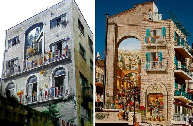 colorindo a fachada de casa
