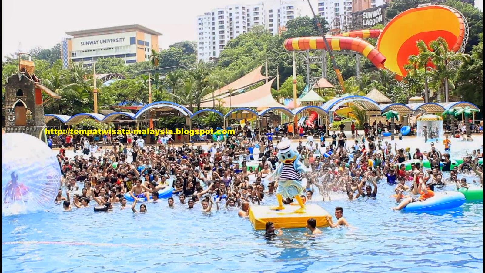 Gambar Water Park Wisata Di Sunway Lagoon Malaysia