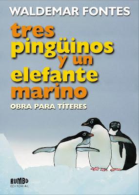 """Presentación del libro de Waldemar Fontes """"Tres pingüinos y un elefante marino"""""""