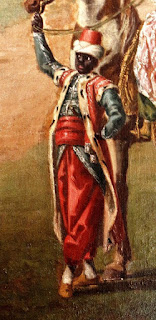 Close up of Gustav Badin from a painting made by Pehr Hilleström 1779