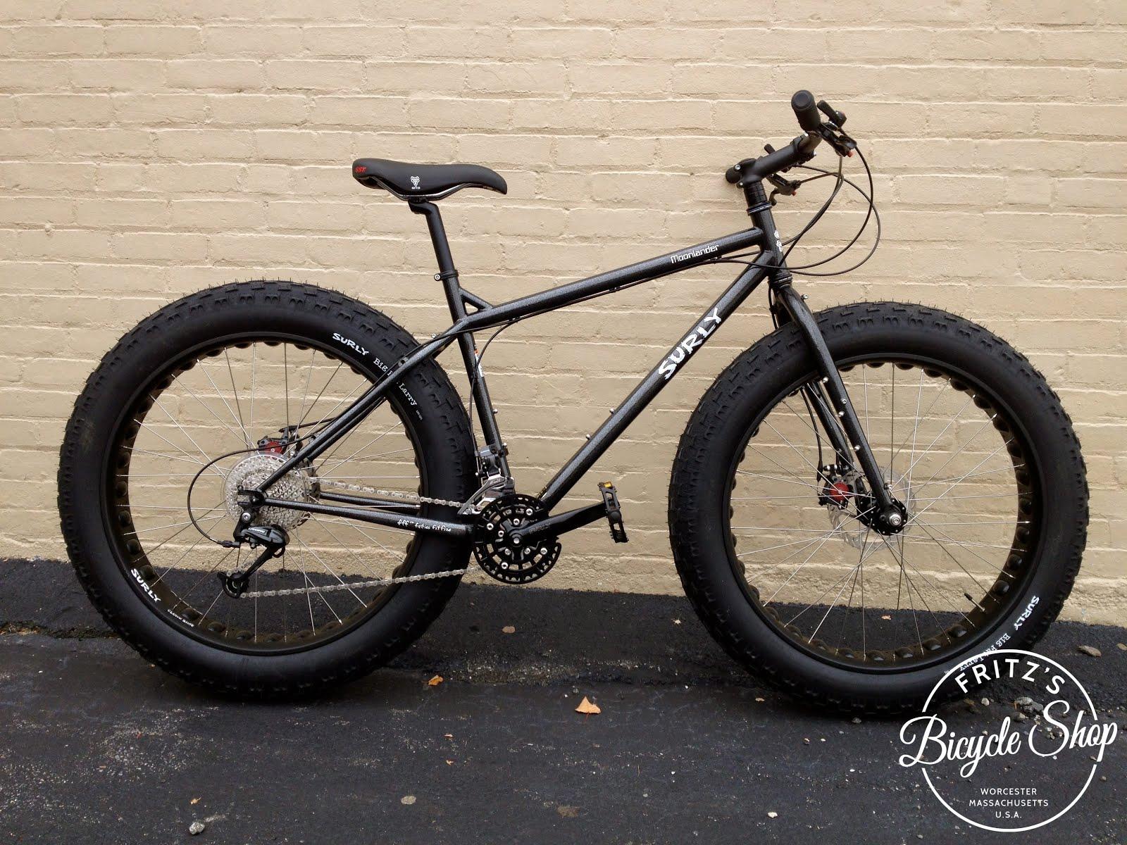 FRITZ'S BICYCLE SHOP worcester ma: Surly Moonlander Demo Bike