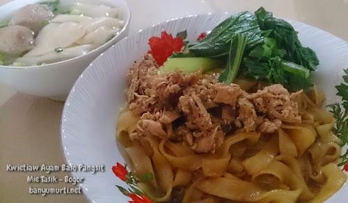 Kuliner Bogor - Mie Tasik