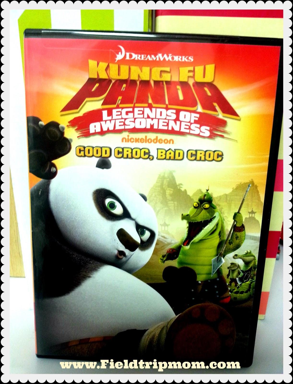 Field trip mom kung fu panda legends of awesomeness dvd release good croc bad croc